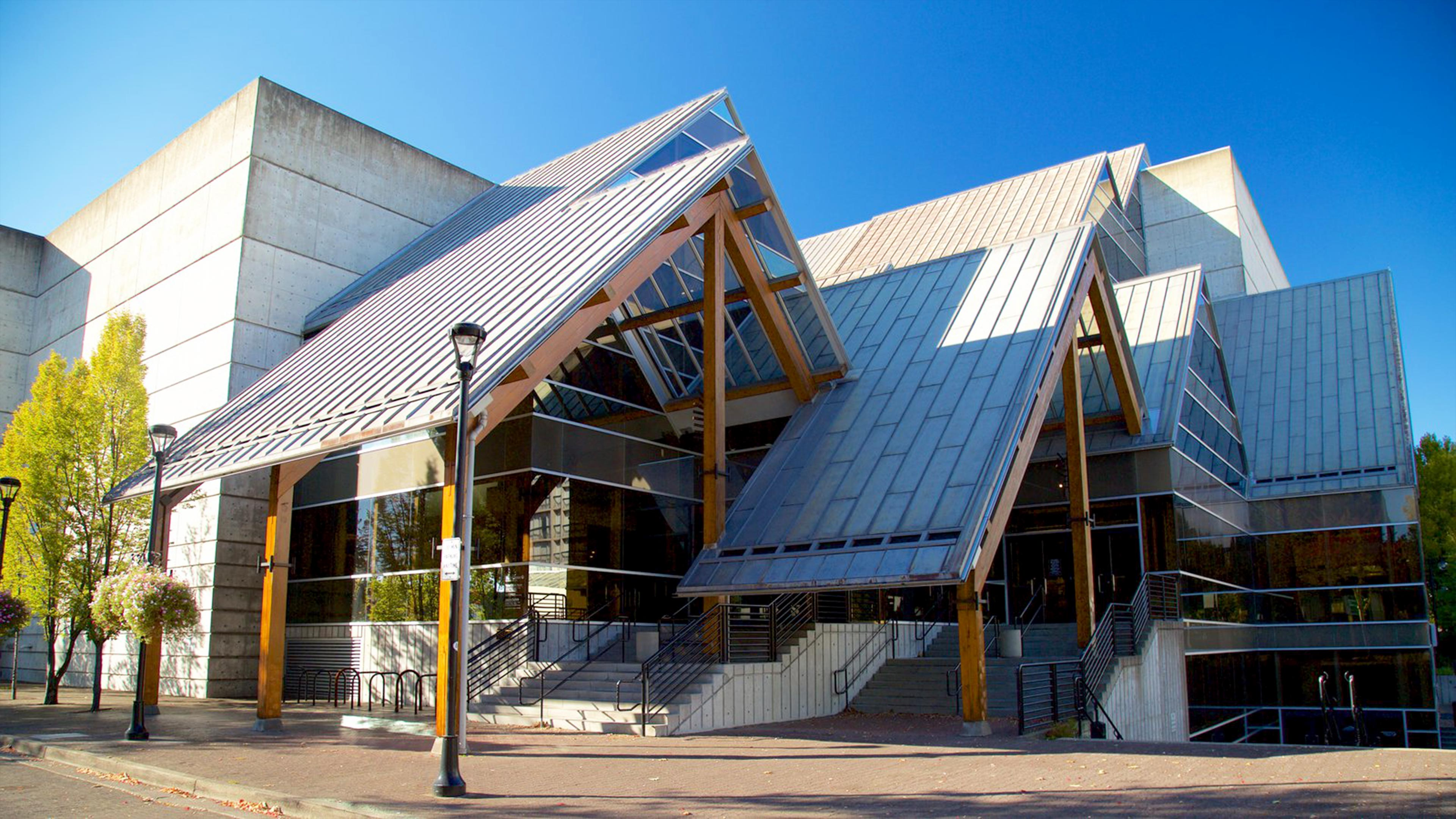 Hult center for the performing arts lemessurier for Architects eugene oregon