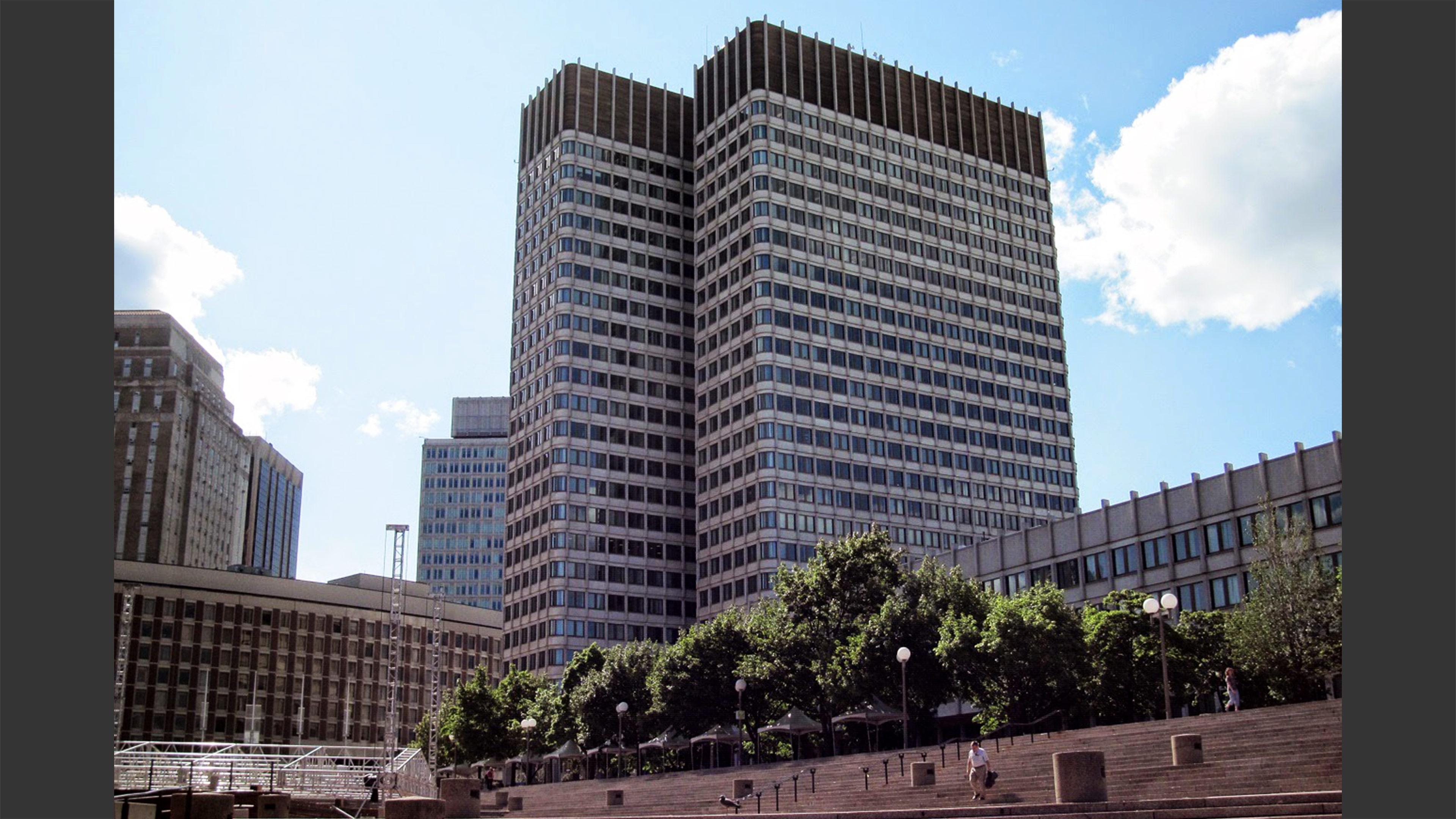 John F Kennedy Federal Building Lemessurier