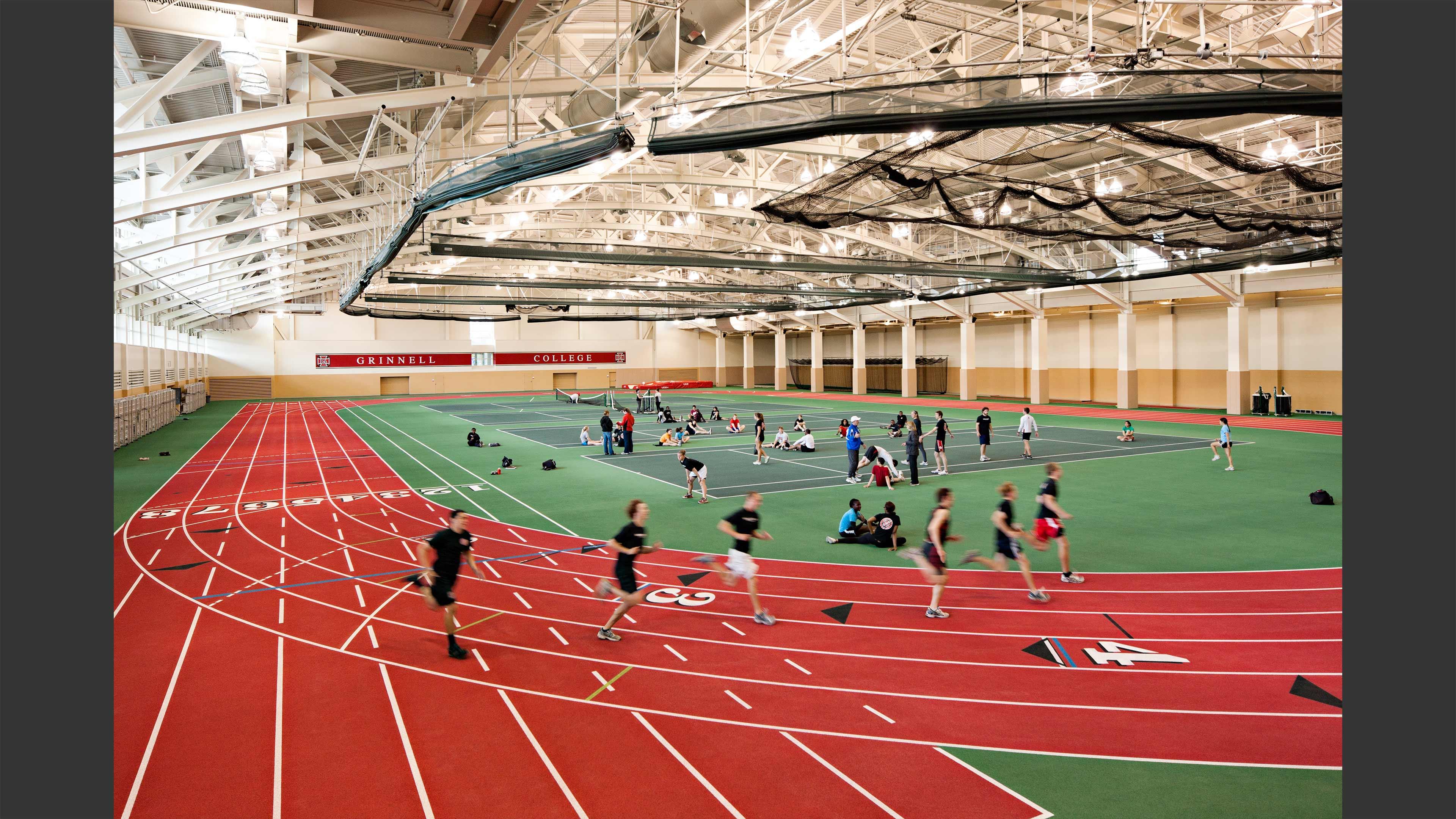 Charles Benson Bear 39 39 Recreation And Athletic Center Lemessurier