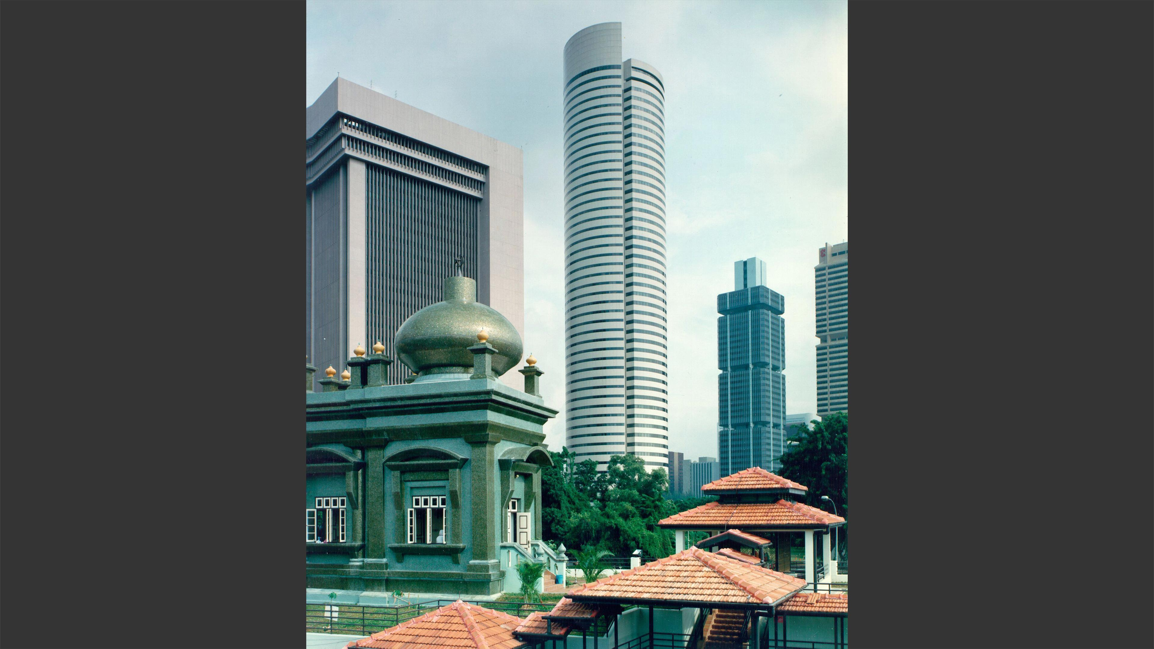 Singapore Treasury Building Lemessurier